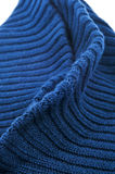 Green knitted fabric Stock Photos