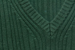Green knitted texture Royalty Free Stock Image