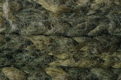 Green knitted wool Royalty Free Stock Image