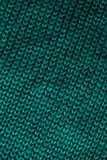 Green knitted wool pattern Royalty Free Stock Photos