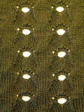 Green knitting Royalty Free Stock Photo