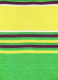 Green knitting cloth Stock Photo