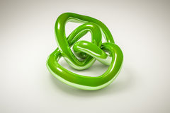 Green knot Royalty Free Stock Photography