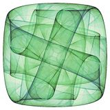 green krzyżowa Zdjęcia Stock