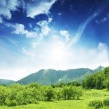 green kullar arkivfoton