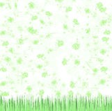 green kwiecista tło Zdjęcia Royalty Free