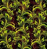 green kwiecista tło Obrazy Royalty Free
