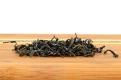 green låter vara tea Arkivbild