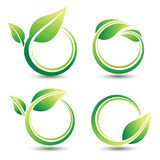Green labels Royalty Free Stock Photo