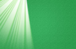 Green Lace with Light Rays Royalty Free Stock Photography