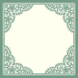 Green Lace. Stock Photos