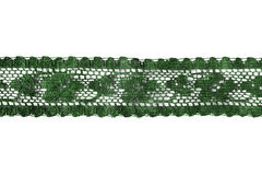 Green lace Stock Image