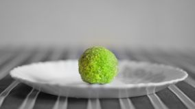 Green Ladoo stock images