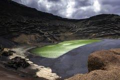 The Green Lagoon - Lago Verde Stock Photo