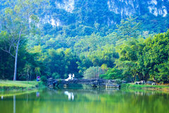 Green lake Royalty Free Stock Images