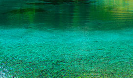 Green Lake Austria. Green lake in the Austrian Alps Stock Images
