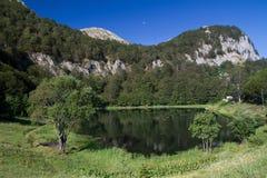 Green lake Donje bare in Sutjeska national park Stock Image