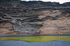 Green Lake Lanzarote Stock Photography