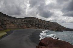 Green Lake Lanzarote Royalty Free Stock Images