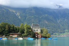 Green lake near Interlaken Stock Photography