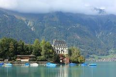 Green lake near Interlaken Stock Photography