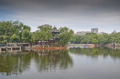Green Lake Park in Kunming, China Royalty Free Stock Photography