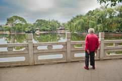 Green Lake Park in Kunming, China Stock Photos