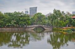 Green Lake Park in Kunming, China Stock Photos