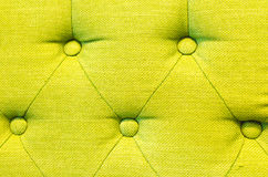 Green lamon sofa texture and background Royalty Free Stock Images
