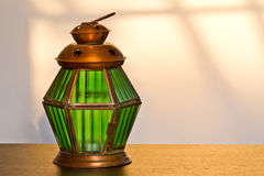Green lamp Royalty Free Stock Photo