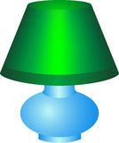 Green Lamp Royalty Free Stock Images