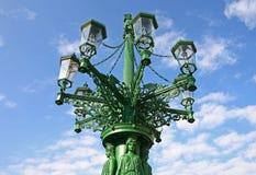 Green lamp Stock Photo