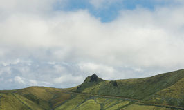 Green landscape on Azores Stock Images