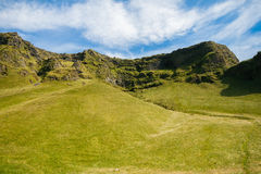 Green landscape of Iceland Stock Photo