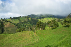 Costa Rica higlands stock photography