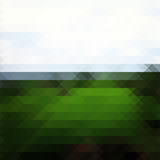 Green landscape triangle background Royalty Free Stock Photography