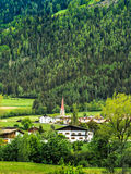 Green landscape in Tyrol, Italy Stock Image