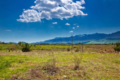 Green landscapes of Lika region Royalty Free Stock Images