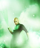Green lantern Royalty Free Stock Photo