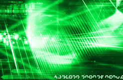 Green laser background Royalty Free Stock Images