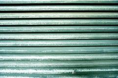 Green lath wood texture Stock Photos