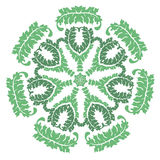 Green laural wreath Royalty Free Stock Images