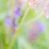 Green and lavender pastel defocused background Stock Image