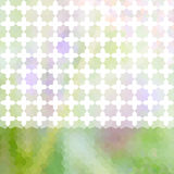 Green and lavender pastel defocused background Stock Photography