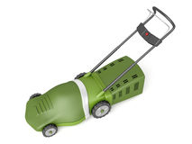 Green lawn mower Royalty Free Stock Photos