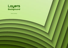 Green Layeres Stock Photo