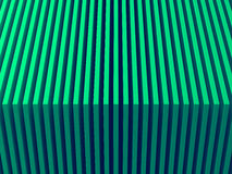 Green layers. Abstract background picture. 3D illustration. This image works good for text and website background, print and mobile application.n Royalty Free Stock Images