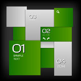 Green Layout Royalty Free Stock Photo