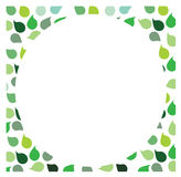 Green Leaf Background. For putting quote in Royalty Free Stock Images