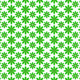 Green leaf pattern design Royalty Free Stock Images